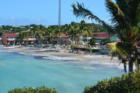Grand Royal Antiguan Beach Resort: Long Bay Grand Pineapple facility from the West End