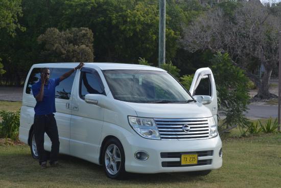 Grand Royal Antiguan Beach Resort: Dales Van we travelled first class