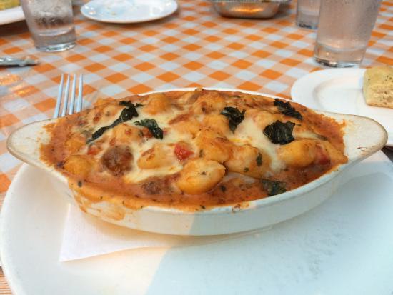 Bethesda, MD: Baked gnocchi
