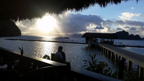 El Nido Resorts Miniloc Island: mornings