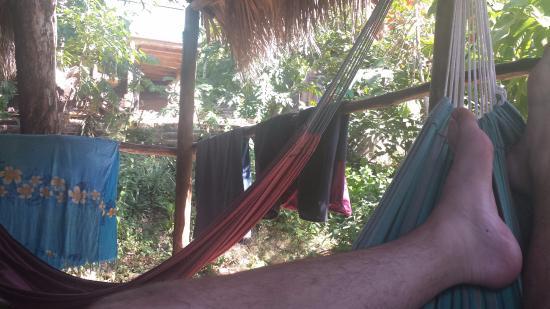 Playa Maderas, Nicaragua: Our balcony