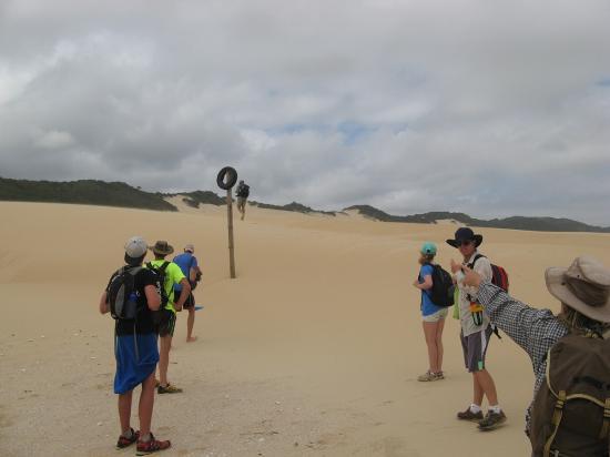 Shipwreck Hiking & Canoe Trails: That way!