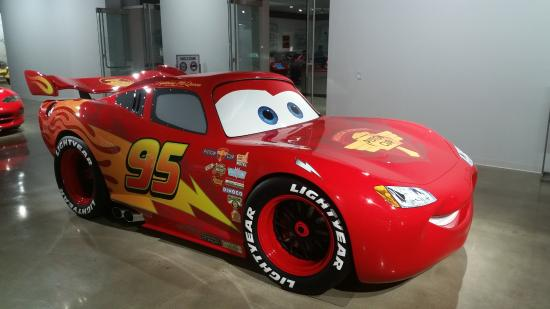 Petersen Automotive Museum Lightning Mcqueen Picture