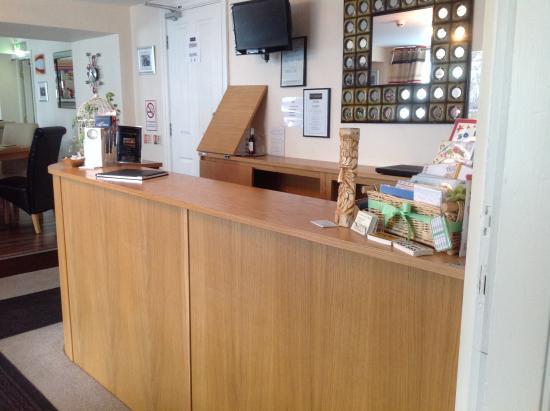 Hunmanby, UK: Reception Area