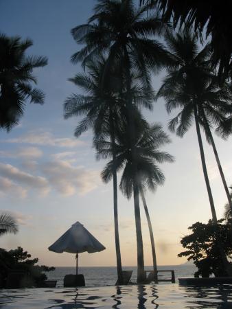 Tambor, Costa Rica: foto vanuit het zwembad