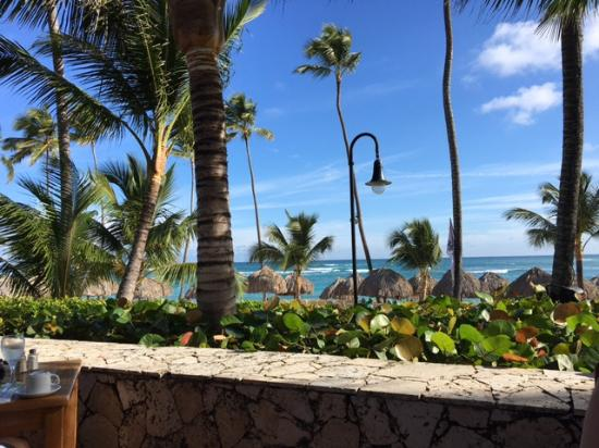 Majestic Elegance Punta Cana: View from table at Sea and Sea Restaurant