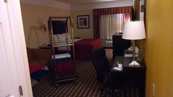 Raymondville, Teksas: King Room, sofa, recliner