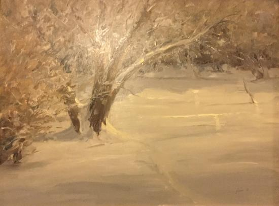 Del Norte, CO: Lovely painting by Rick Howell