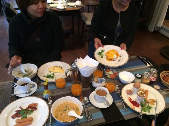 Burasari Heritage: Outsanding breakfasts!!