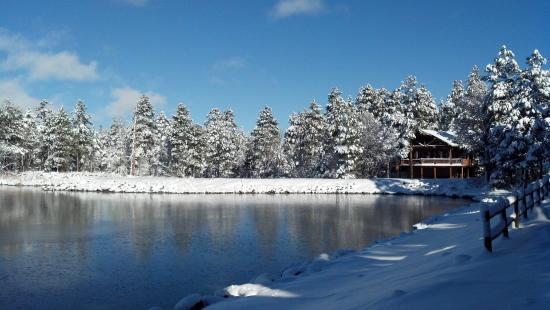 Lake of the Woods Resort: Resort in Winter