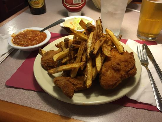 Barberton Chicken and fries