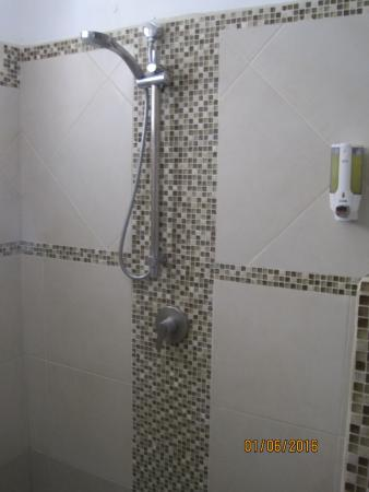 Hotel Villas Playa Samara: Shower
