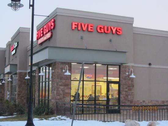 Five Guys Burgers Fries West Valley City Utah