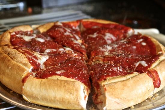 South Beloit, IL: Deep dish!