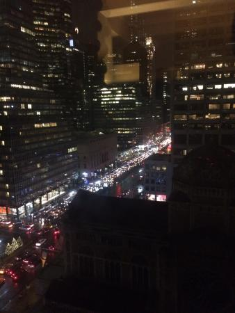 night time view up park avenue picture of waldorf astoria new york rh tripadvisor co za