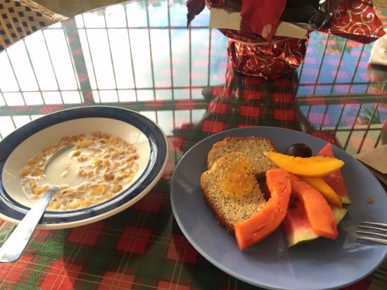 Ceiba Country Inn: Breakfast