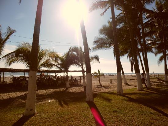 Barra Vieja Beach Atardecer En