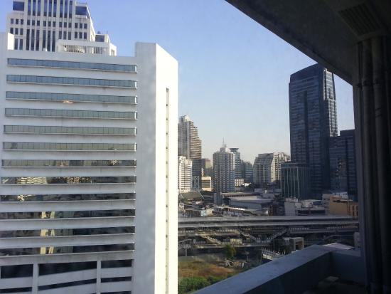 Phachara Suites: View from window