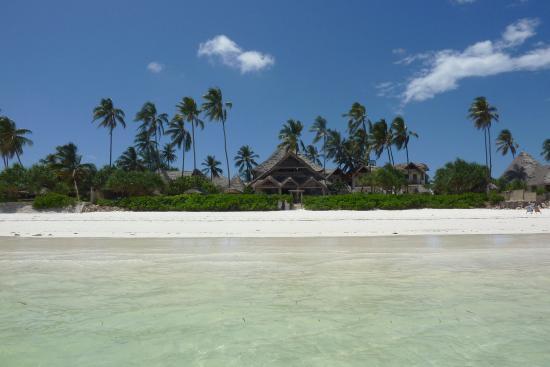 Villa Kiva Resort and Restaurant: vista dal mare