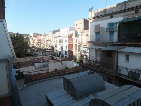 Hotel Gaudi: VIEW FROM ROOM