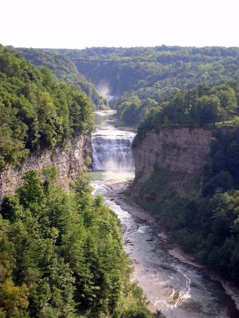 upper falls genessee gorge letchworth state park ny picture of rh tripadvisor ca