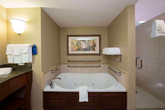 Athens, GA: King Suite Bathroom
