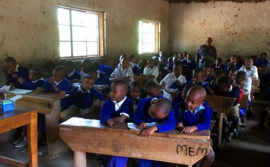Monduli, Tanzania: The school in Mtu wa Mbu