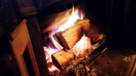 The Haka : A very warm fire