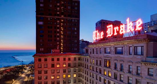 The Drake Hotel: The Drake atop the Magnificient Mile