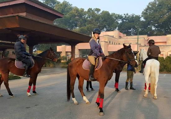 Gokarna Forest Resort: Horseback riding day excursion