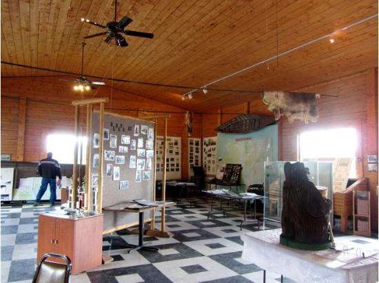 Nenana, AK: Inside the cultural center