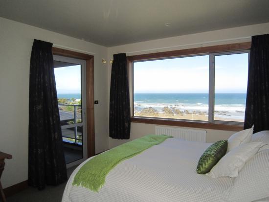 Kaka Point, Nueva Zelanda: master bedroom