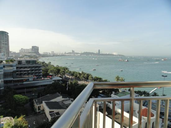 view from the balcony picture of holiday inn pattaya pattaya rh tripadvisor co za
