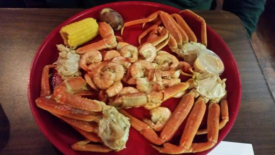 Fayetteville, TN: Seafood Platter without Crawfish