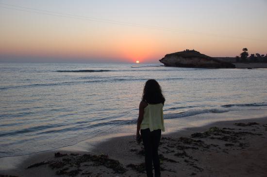 A view of Sunset from Fest de Diu Beach Festival - Picture of Diu ...