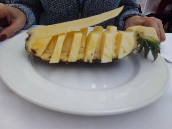 Casa Juan Los Mellizos: Buena fruta de temporada