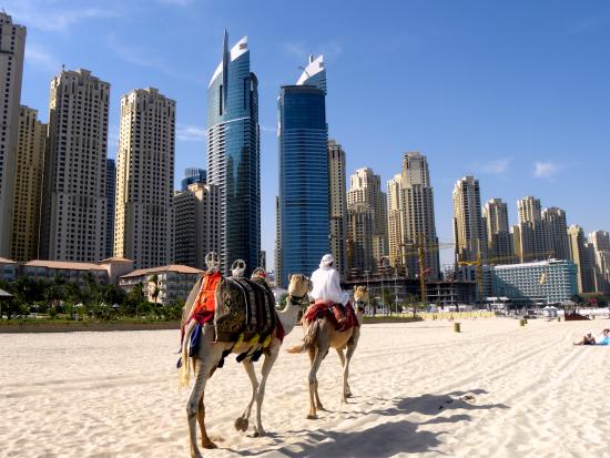Dubai, United Arab Emirates: JBR - tradition and modern age