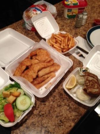 Plover, WI: carry-out fish fry