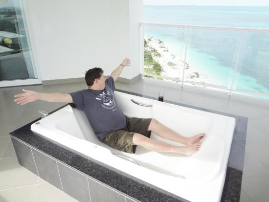 Our Fabulous Jacuzzi Suite Balcony Picture Of Hotel Riu