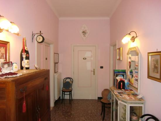 Villa Pollio: Hall