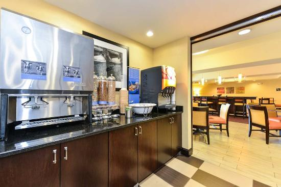 Garner, Carolina del Norte: Breakfast Area