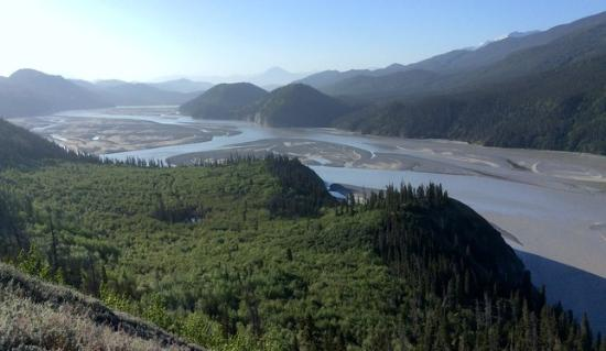 Wrangell-St Elias National Park and Preserve, AK: This what you see inside the park