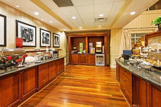 Clinton, Южная Каролина: Breakfast Area