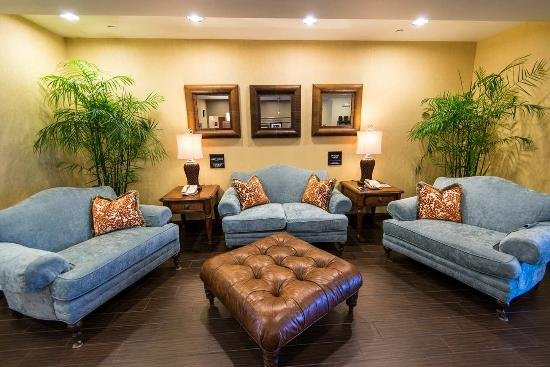 Hampton Inn & Suites Fort Myers - Colonial Blvd: Hotel Lobby Sofas