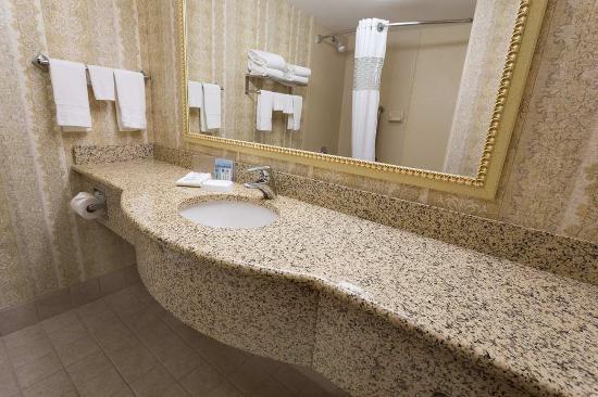 Saint Ann, มิสซูรี่: Hampton Inn St. Louis Airport Bathroom Standard NS