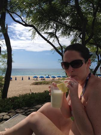 Hapuna Beach Prince Hotel Beach Bar: paradise