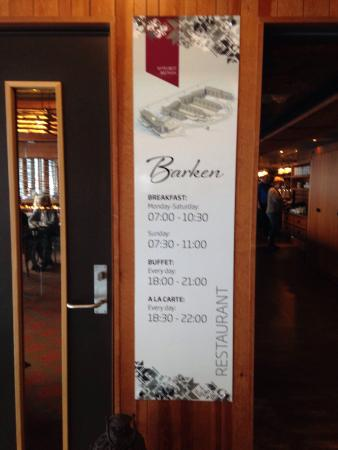 Restaurant Barken