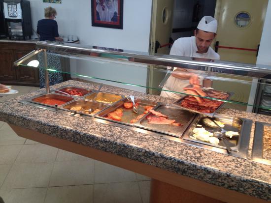 TRH Mijas: Еда тут ужасная и мало!!