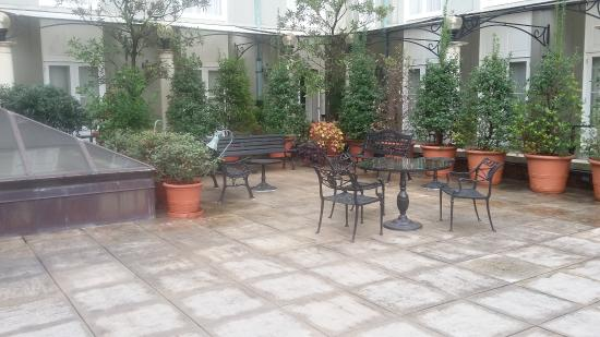 Omni Royal Orleans: Inner view from courtyard rooms