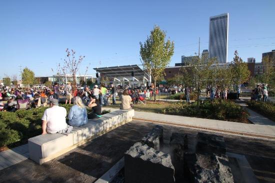 Tulsa, OK: Guthrie Green Concert